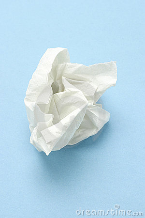 Free Crumpled Tissue Paper Royalty Free Stock Photography - 13496707