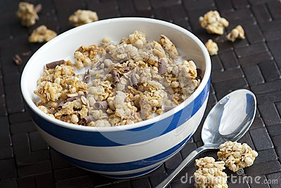 Crunchy nut clusters