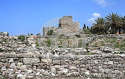 Crusader Castle, Byblos (Lebanon)