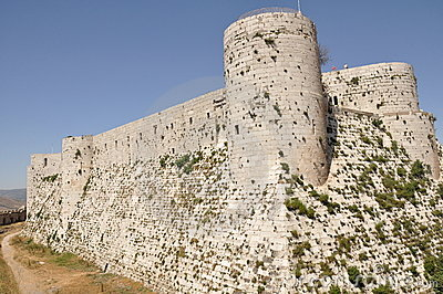 Crusader castle in Syria
