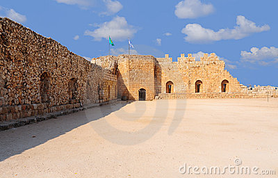 Crusader Fortress Stock Images - Image: 10861394