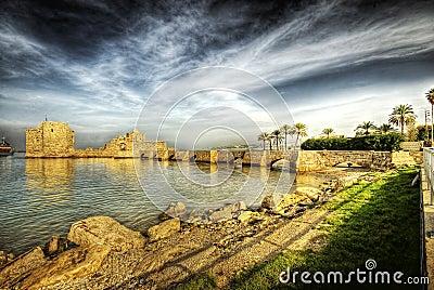 Crusader Sea Castle, Sidon (Lebanon)