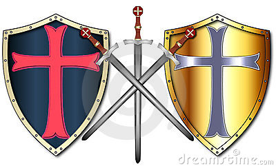 Crusader Shields and Swords