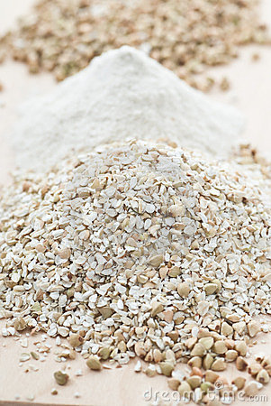 Crushed Buckwheat
