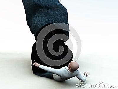 Crushed Man 5