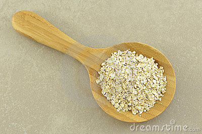 Crushed oats