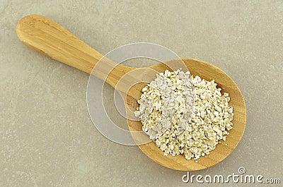 Crushed oats