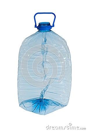 Free Crushed  Plastic Bottle Royalty Free Stock Photography - 23657047