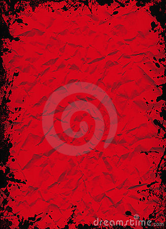 Crushed red sheet