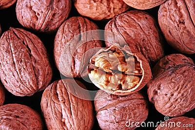 Crushed walnut