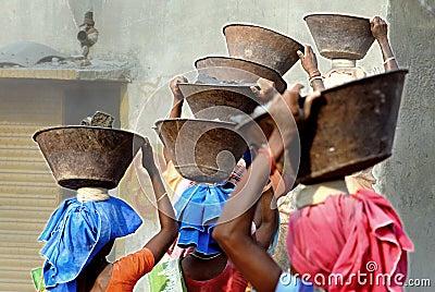 Crusher mine in India Editorial Stock Photo