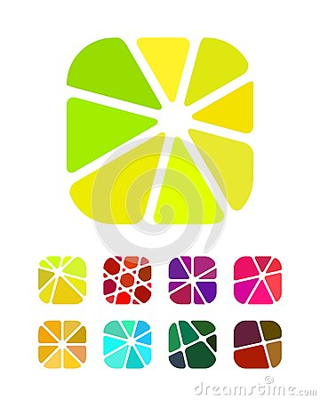 Free Crushing Abstract Round Rectangle Design Logos Royalty Free Stock Photo - 29257285