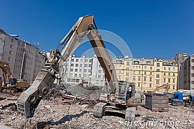 Crushing machine