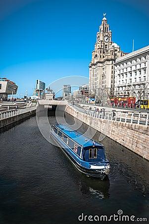 Crusing Through Liverpool