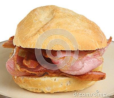 Crusty Bacon Roll