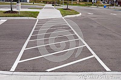 Cruzamento de pedestre