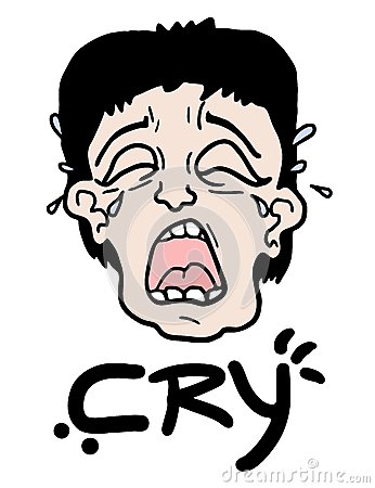 Cry face
