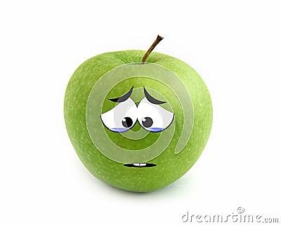 Crying Apple Royalty Free Stock Photos Image 21759948
