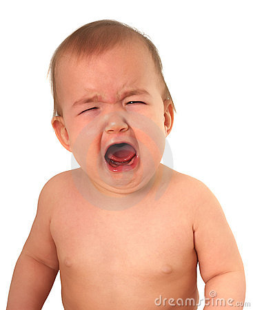 Crying Baby Royalty Free Stock Images - Image: 17735279