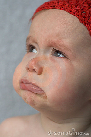 Free Crying Baby Royalty Free Stock Photography - 1799167