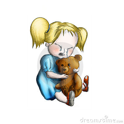 crying-girl-with-toy-bear-thumb7336512.j