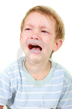 Crying Toddler Boy Stock Images - Image: 10439164