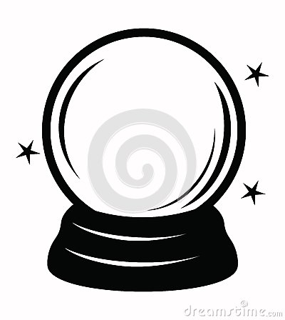 Free Crystal Ball Stock Photo - 46625740