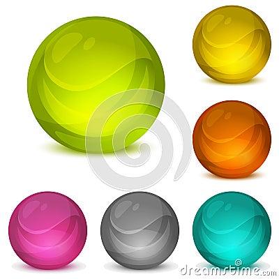 Free Crystal Balls Stock Photography - 15005032