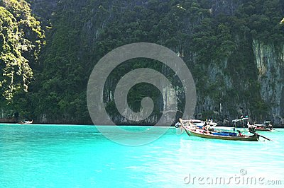 Crystal clear sea Editorial Stock Image