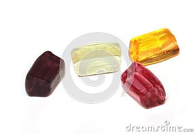 Crystal clear sugar candy