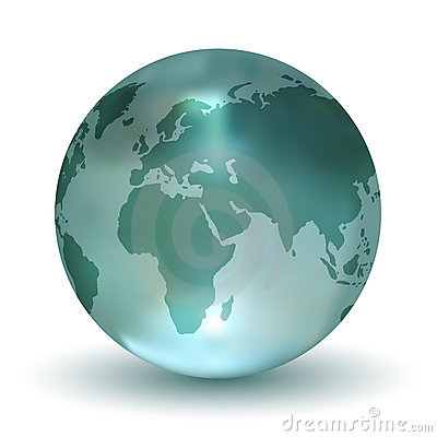 Free Crystal Earth Globe Stock Images - 11996324