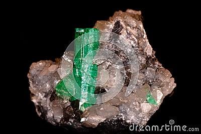 Crystal of emerald