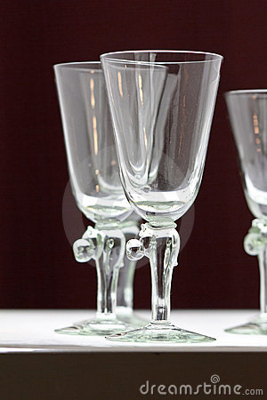 Free Crystal Glasses Royalty Free Stock Images - 19317859