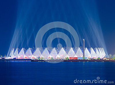 Crystal Hall - Eurovision 2012 Editorial Stock Image