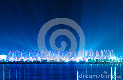 Crystal Hall - Eurovision 2012 venue Editorial Stock Image
