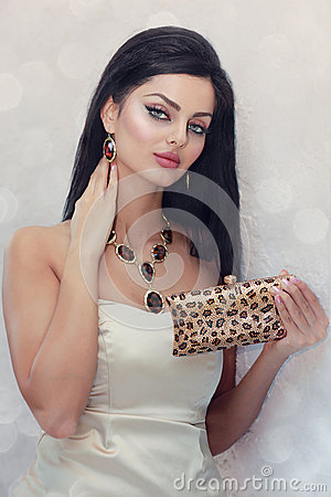 Crystal handbag