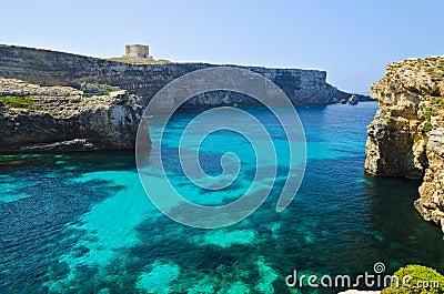 Crystal Lagoon in Comino - Malta