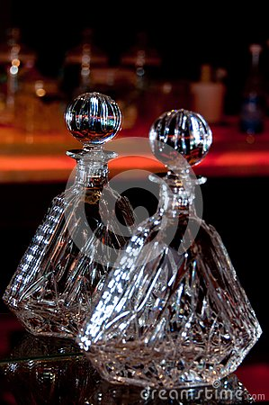Crystal Liquor Container
