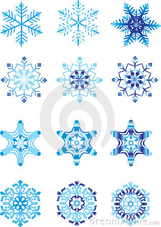 Crystal modulation of a snowflake