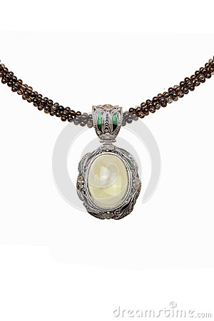 Free Crystal Necklace Royalty Free Stock Photography - 26545407
