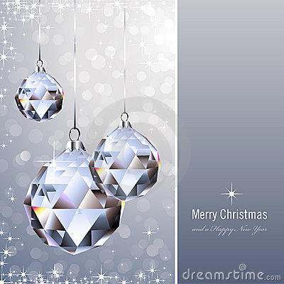 Free Crystal Ornaments Royalty Free Stock Image - 12024586