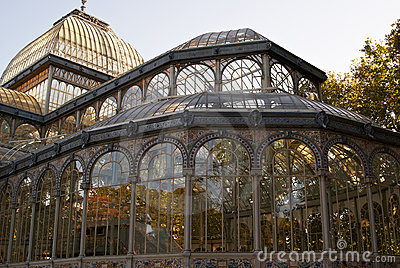 Crystal Palace in Madrid s Retiro Park Royal