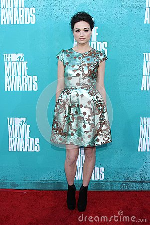 Crystal Reed at the 2012 MTV Movie Awards Arrivals, Gibson Amphitheater, Universal City, CA 06-03-12 Editorial Photography