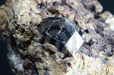 Crystal of rutile