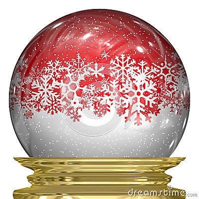 Crystal Snow Globe
