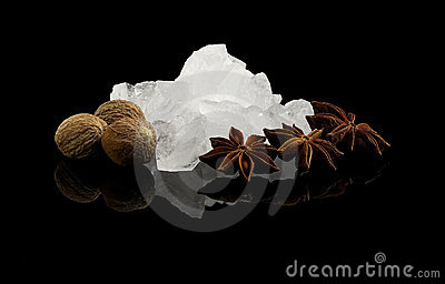 Crystal sugar and spice