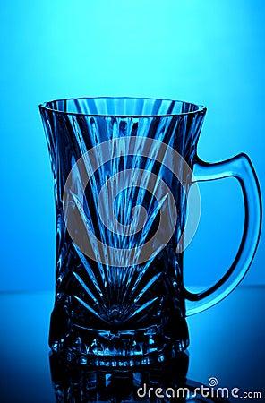 Crystal tea glass