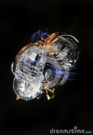 Crystal xmas bell