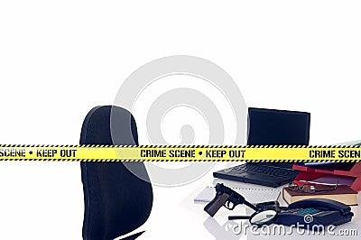 CSI crime scene