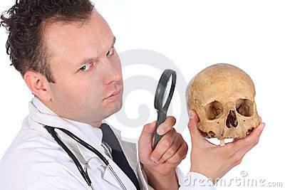 CSI doc close-up